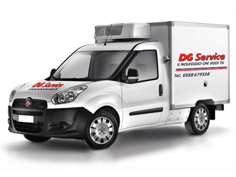 noleggio furgoni speciali - dg service srl - reggio emilia